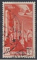 1931-32 TRIPOLITANIA USATO POSTA AEREA SOGGETTI AFRICANI 60 CENT - RR12672-6 - Tripolitania