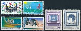 207-212 / 202-207 Vereinte Nationen Genf Serie Einwandfrei Postfrisch/** - Office De Genève
