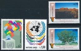 203-206 / 198-201 Vereinte Nationen Genf Serie Einwandfrei Postfrisch/** - Office De Genève