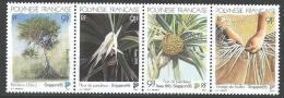 """Polynésie YT 489 à 492 Se Tenant """" SINGAPOUR'95 """" 1995 Neuf** - French Polynesia"""