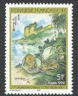 "Polynésie YT 501 "" Horoscope Chinois, L'Année Du Rat "" 1996 Neuf** - Polynésie Française"