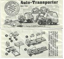 KINDER ALLEMAND AUTOTRANSPORTER  BPZ 660744 D 1992 - Montables
