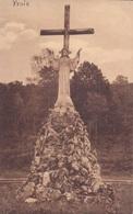 Yvoir Statue Du Sacré-Coeur à La Grotte De N.D. De Lourdes - Yvoir