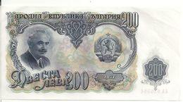 BULGARIE 200 LEVA 1951 XF+ P 87 - Bulgarie