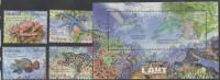 MALAYSIA, 2012, MNH, MARINE LIFE,  TURTLES, CRABS, CORALS, FISH, EELS, STARFISH, 4v +S/SHEET, NICE! - Marine Life
