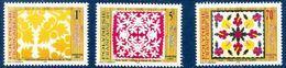 "Polynésie YT 528 à 530 "" Tifaifai "" 1997 Neuf** - Polynésie Française"