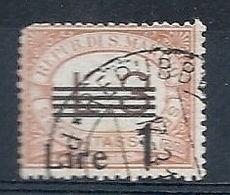 1936-39 SAN MARINO USATO SEGNATASSE 1 LIRA SU 30 CENT - RR7941 - Segnatasse