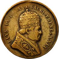 Vatican, Médaille, Pie IX, Conseil Oecuménique De Rome, 1869, TTB, Cuivre - Tokens & Medals