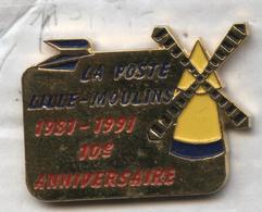 Pin's La Poste Lille Moulins Moulin Mill - Mail Services