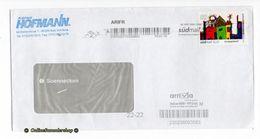 Privatpost - Umschlag - Südmail / Arriva - Marke: Kompaktbrief - Kinderzeichnung - Privatpost