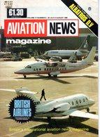 Aviation News British Airlines Survey  Albatros DV - Transportation