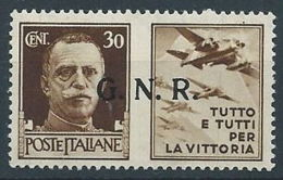 1944 RSI PROPAGANDA DI GUERRA 30 CENT VERONA MNH ** - RR13730 - 4. 1944-45 Repubblica Sociale