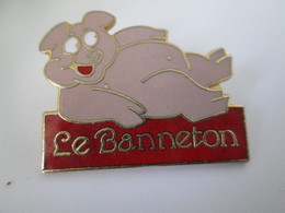 PIN'S    LE BANNETON   EGF - Pin-ups
