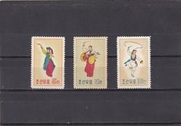 Corea Del Norte Nº 204 Al 206 - Corea Del Norte