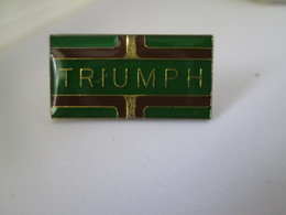 PIN'S    LOGO  TRIUMPH - Other