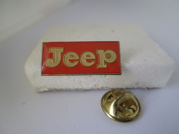 PIN'S    LOGO  JEEP - Other
