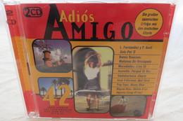 """2 CDs """"Adiós Amigo"""" 24 Große Spanische Erfolge Der 60's, 70's Und 80's Aus Den Deutschen Charts - Musique & Instruments"""
