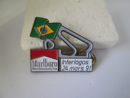 PIN'S    CIRCUIT BRESIL INTERLAGOS  91 MARLBORO - F1