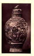 """Gd Tirage Photo Albuminé Cartonné - Jarre De Forme """"guan"""" En Grès émaillé Époque Ming (1368-1644) Boccaro, Nankin ... - Objects"""