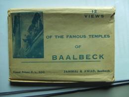 Libanon Lebanon Baalbek Baalbeck Temples 12 Very Nice Postcards - Libanon