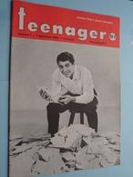 TEENAGER Nr. 1 - 1 Sept 1960 - PAUL ANKA ( Juke Box - Mechelen ) ! - Tijdschriften