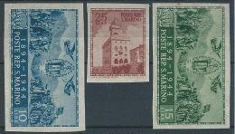 1945 SAN MARINO PALAZZO DEL GOVERNO DA FOGLIETTO MH * - RR13045 - San Marino