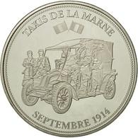 France, Médaille, Centenaire De La Première Guerre Mondiale, Taxis De La - France