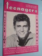 TEENAGER Nr. 3 - 10-3-61 - LITTLE JOE / BONANZA ( Juke Box - Mechelen ) ! - Tijdschriften