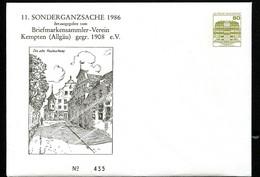 Bund PU117 C2/028 ALTE POSTHALTEREI KEMPTEN 1986 - Post