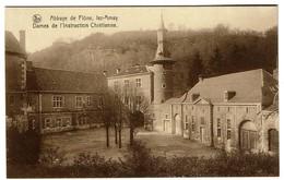 Abbaye De Flône - Lez-Amay - Dames De L'Instruction Chrétienne - 2 Scans - Amay