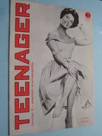 TEENAGER Nr. 8 - 1-7-62 - CONNIE FRANCIS ( Juke Box - Mechelen ) ! - Tijdschriften