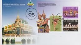 New Zealand 2003 Bangkok 2003 World Philatelic Exhibition Miniature Sheet FDC - FDC