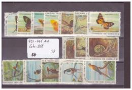 CUBA - No Michel 731-745 ** ( SANS CHARNIERE ) - COTE: 26 € - Cuba