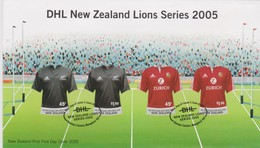 New Zealand 2005 DHL Lions Series FDC - FDC
