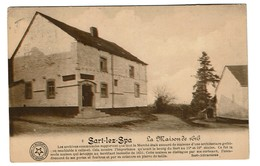 Sart-lez-Spa - La Maison De 1616 - Circulée - Edit. Sart-Attractions - 2 Scans - Jalhay