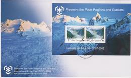 New Zealand 2009 International Polar Year Miniature Sheet FDC - FDC