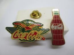 PIN'S    LOT 2 COCA COLA - Coca-Cola