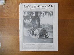 LA VIE AU GRAND AIR N°637 DU 3 DECEMBRE 1910 GRAND PRIX D'AMERIQUE BRUCE BROWN VAINQUEUR,AVIATEUR MAC CURDY,JOHNSON-JEFF - Bücher, Zeitschriften, Comics