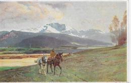 AK 0030  Strützel . Otto - Heimkehr/ Künstlerkarte Um 1910-20 - Künstlerkarten
