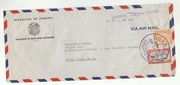 1951 PANAMA FOREIGN MINISTRY Cover To UN SECRETARY GENERAL TRYGVE LIE USA United Nations Stamps Airmail Aviation - Panama