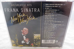 """CD """"Frank Sinatra"""" New York New York, His Greatest Hits - Hit-Compilations"""