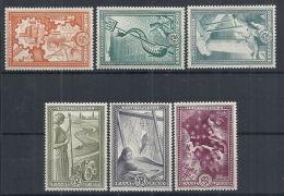 1951 GRECIA PIANO MARSHALL 6 VALORI MNH ** - RR12426 - Grecia