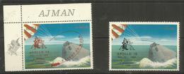 AJMAN - MNH - Space - Apollo 10 - Overprint - Space