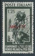 1951 TRIESTE A USATO CICLISMO - RR13866 - Usati