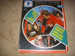 MIROIR Du CYCLISME 212 02.1976 EQUIPES 76 ANGLADE SCHUITEN CYCLO CROSS ZWEIFEL - Sport