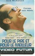 CARTE-VIDEO FUTUR-N°22-POUR LE BIEN ET LE MEILLEUR-TBE - RARE - Frankrijk