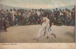 CPA Lucha En Canarias (très Belle Scène) - Espagne