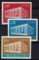 Monaco 1969 // Mi. 929/931 ** (M.027..993) - Europa-CEPT
