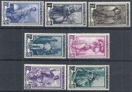 1955-57 ITALIA ITALIA AL LAVORO STELLE MNH ** - RR12728 - 1946-60: Nuovi