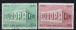 San Marino 1969 // Mi. 925/926 ** (M.027..996) - Europa-CEPT